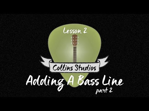 Make Your Acoustic Rhythm Playing Interesting! Part 2 - Add A Bassline Advanced
