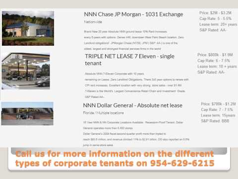 Thinking about real estate investment   Triple net lease properties