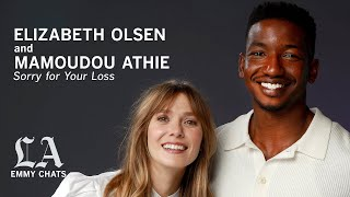 Elizabeth Olsen and Mamoudou Athie from 'Sorry for Your Loss,' Emmy Contenders chats
