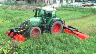 """""""Perfect"""" KX-860 large surface flail mower"""