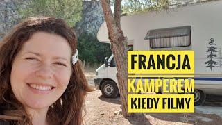 Kamperem we Francji i co z filmami