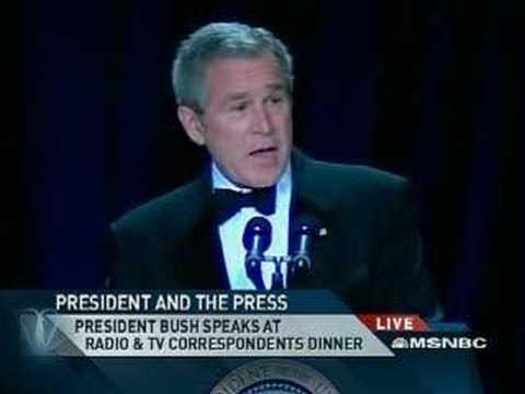 President Bush's Great Humor