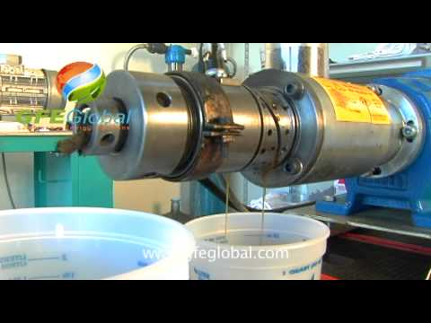 Canola seed oil press extraction test for production of biodiesel and biofuel