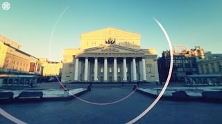 360 4K video  Unique Bolshoi Theatre VR tour