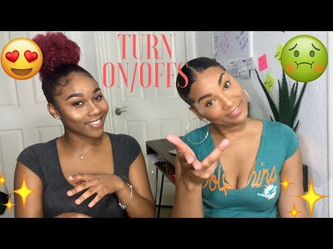 TURN ON AND TURN OFFS!!! | CEE & GEE!