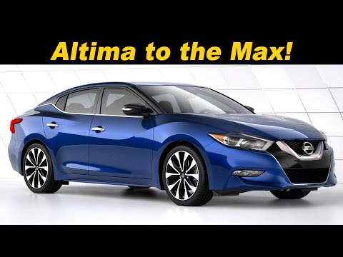 2016 / 2017 Nissan Maxima Review and Road Test | Detailed In 4K UHD1