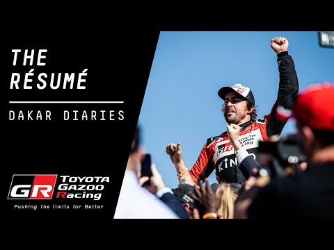 TOYOTA GAZOO Racing | Dakar Diaries Ep 14: The Résumé (Stage 12)