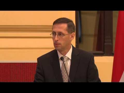 Varga Mihály beszéde / Gazdasági konferencia 2/1 - 2014.07.17.