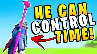 TABS - This Unit Can Stop & Control Time! The Time Wizard - Totally Accurate Battle Simulator