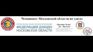 Чемпионат Московской области по дзюдо татами 1