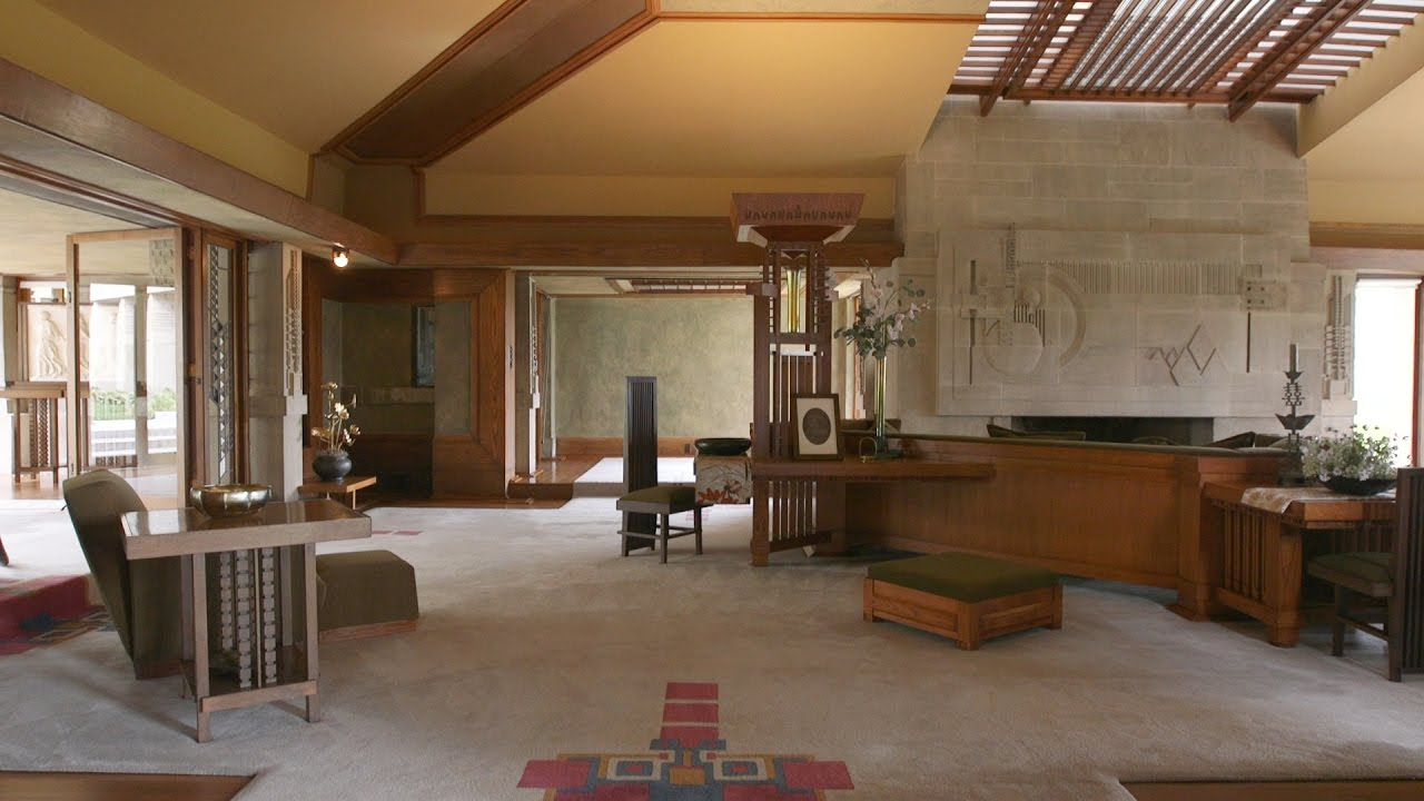 hollyhock house frank lloyd wright u0027s first la project youtube