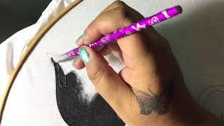 Pintura En Tela Blusa Gatitos Con Cony