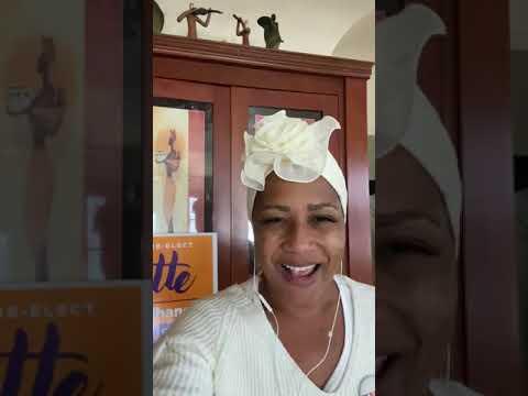 Lynette Gibson McElhaney, Oakland District Three Councilmember, Celebrates Joe Biden - Kamela Harris