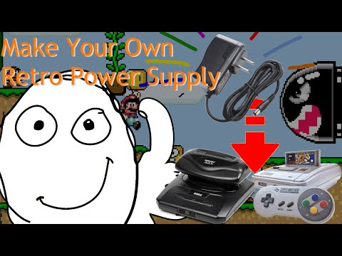 How to Make Your Own Power Adapter for Your Retro Consoles
