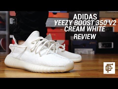 f7157aa2783 Yeezy 350 V2 White Cream Review   Legit check