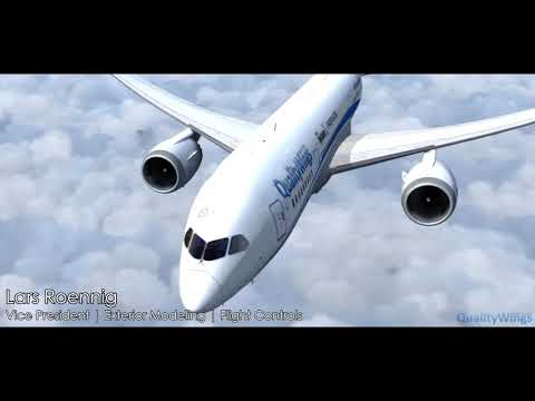 Quality Wings 787 released for P3Dv4 - News and Press