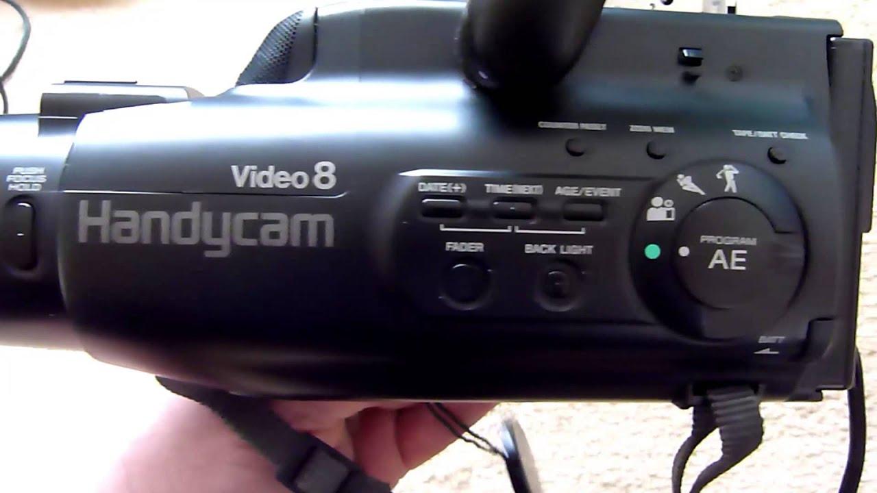 инструкция к видеокамере sony ccd-fx200e