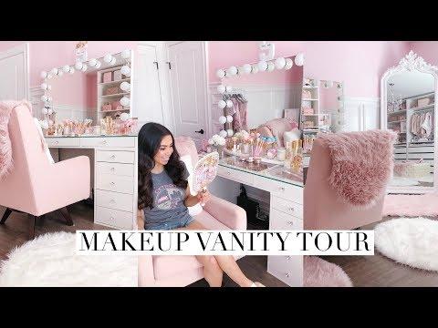 makeup-vanity-tour!💕