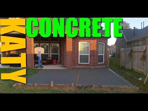 Katy Patios | (281) 607-1414 | Katy Concrete Patios