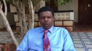 Gudoomiyaha Golaha Dhexe Mohamed Shariif oo Ka War Bixinaya Safarkiisii Dagmada Bookh.