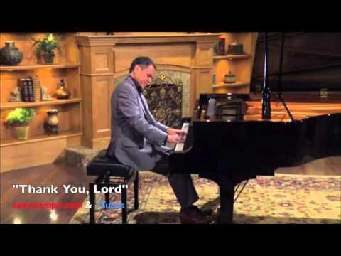 Thank You, Lord (2016 Version) - Sam Ocampo, piano