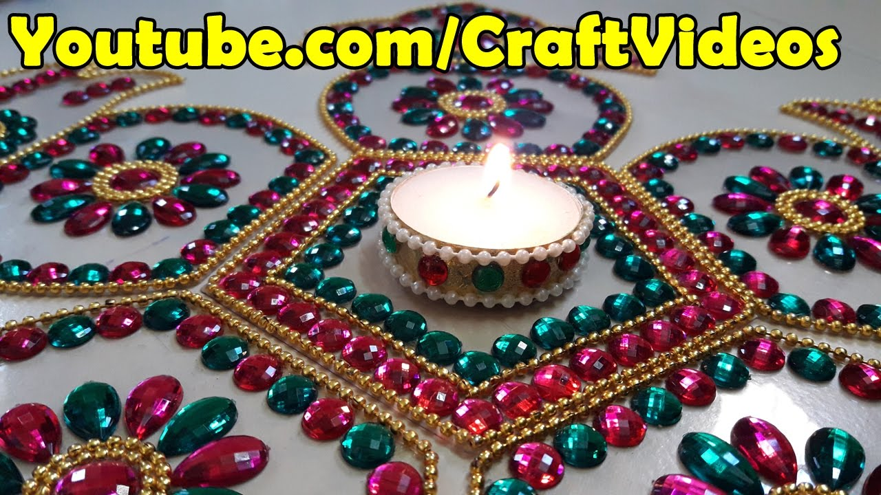 Diwali Decoration Ideas Homes Part - 17: Diwali Decoration Ideas : How To Decorate Diwali Diyas | Christmas Decor -  YouTube