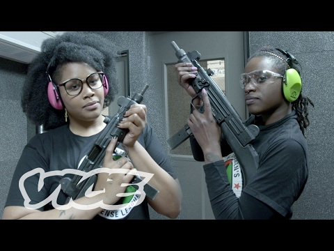 The Black Women's Defense League Taking Aim at Racism and Misogyny