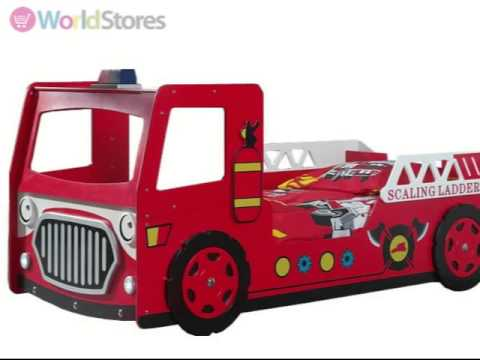 frankie fire truck bed frame