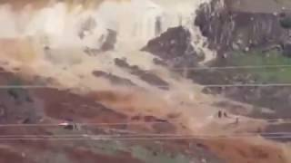 Shocking Footage || California Oroville Dam burst ||13 02 2017 || DISASTER