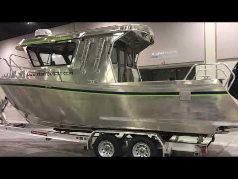 Xtaero Aluminum Boats Anchorage Boat Show V2017
