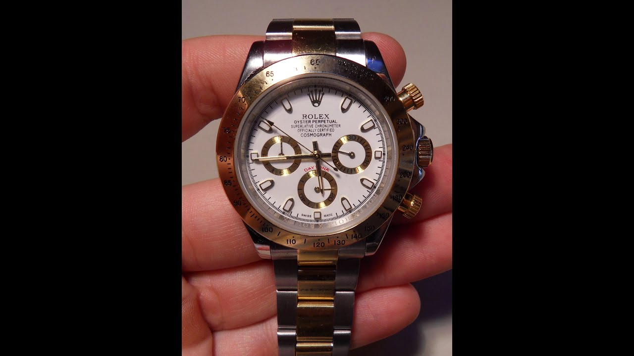 a2492fb7bf2 UNBOXING ROLEX DAYTONA ALIEXPRESS - YouTube