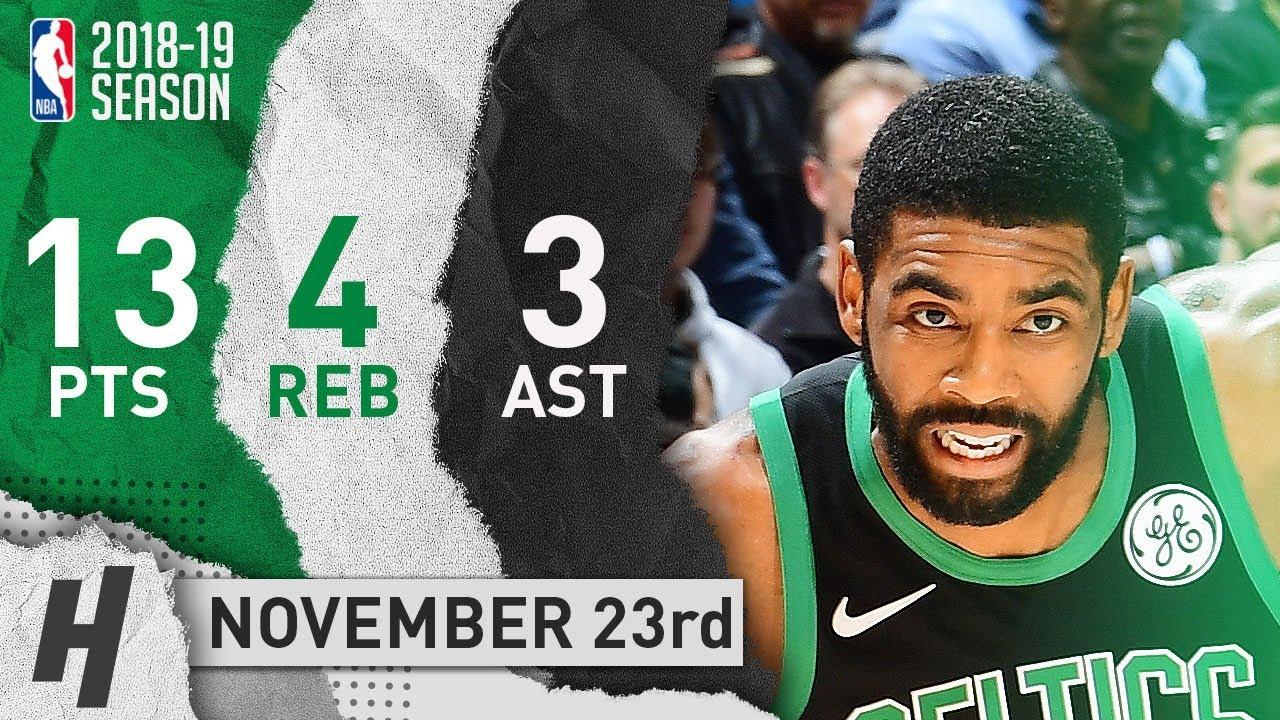 Kyrie Irving Full Highlights Celtics vs Hawks 2018.11.23 - 13 Pts 816a4bc4a