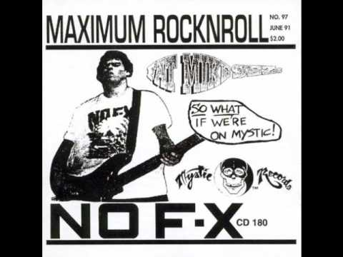 NoFx - Shitting Bricks [Maximum RockNRoll] Track