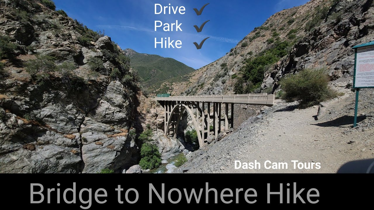 June 25, 2020. Driving and Hiking to Bridge to Nowhere. Dash Cam Tours