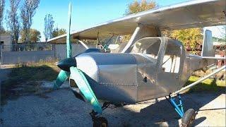 Самодельный самолет.  2 штуки.(, 2016-10-30T08:43:39.000Z)
