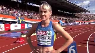 Наталья Погребняк 200 полуфинал Чемпионат Европы Амстердам 6 7 2016