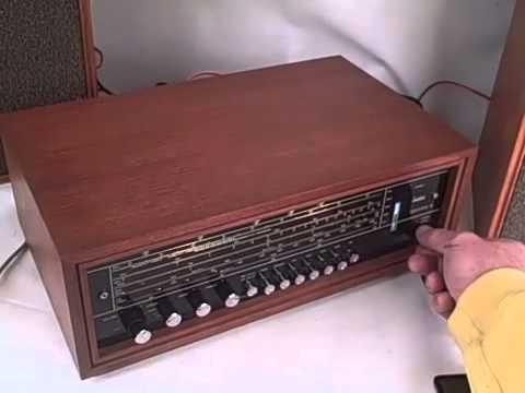 TANDBERG SOLVSUPER 10-71 RADIO/AMP & TL1210 SPEAKERS