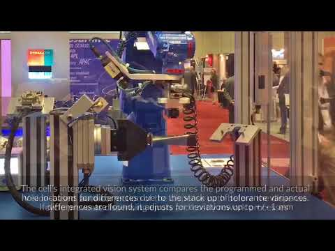 Automated Turbine Blade Masking Cell at MRO 2017