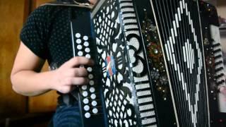 Уроки игры на гармошке! Разбор песни Барыня!
