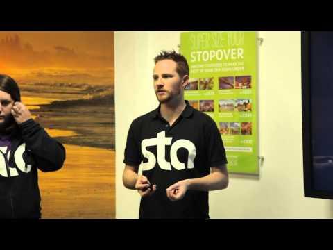 STA Travel Big Trip Travel Talks - Welcome