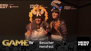 Game TV Schweiz - Besucher HeroFest