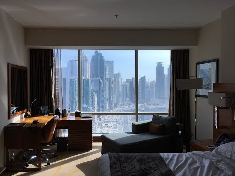 INTERCONTINENTAL THE CITY DOHA, WEST BAY QATAR Hotel Room Tour | JoyDellaVita.com