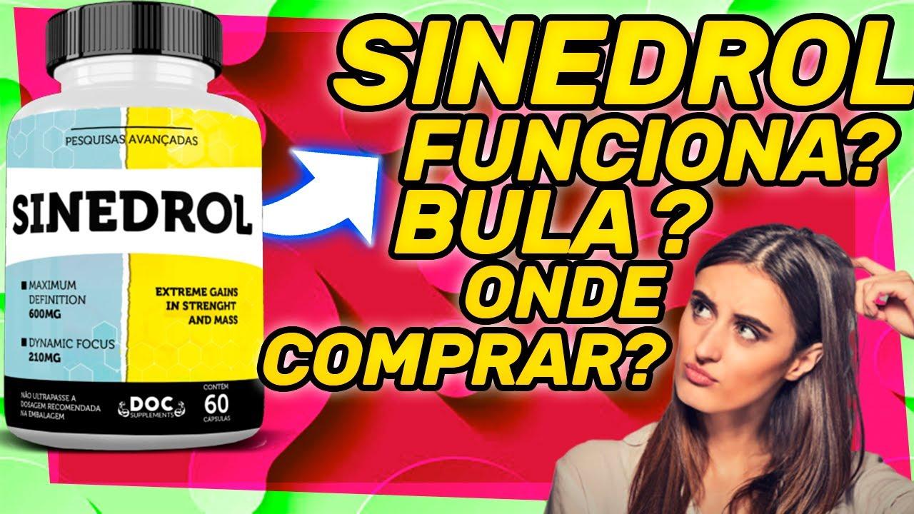 sinedrol composição