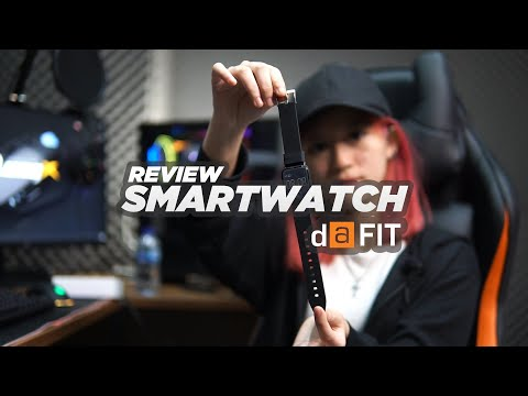 REVIEW SMARTWATCH DA FIT WITH STELLA