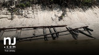 Centuries-old railroad tracks was unearthed in South Jersey