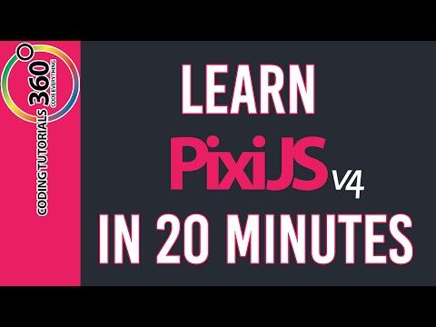 Learn PixiJS in 20 Minutes