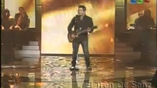 Alejandro Sanz | Se Vende | En vivo, La Voz Argentina | 07.10.12