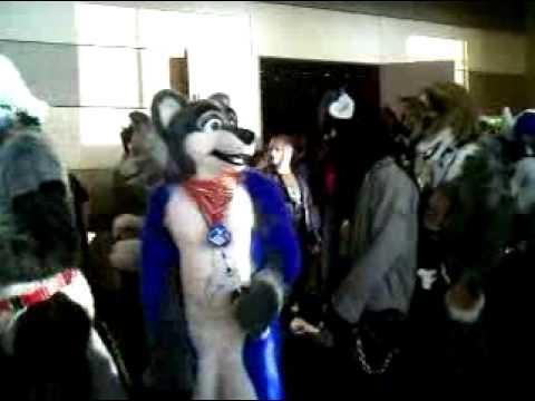 Midwest FurFest 2009 Fursuit Parade Pt 1