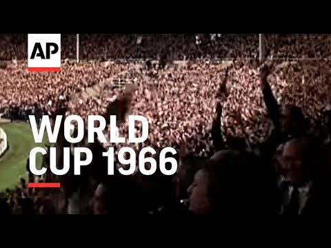 Football World Cup Final 1966 in glorious colour