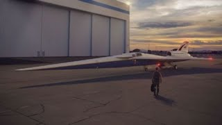 Defense giant Lockheed Martin building a supersonic plane